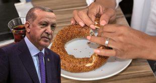 Cumhurbaşkanı Erdoğan'ın önerisiyle üretilen fındıklı simit rağbet görüyor