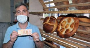 Trabzonlu fırıncı, hatalı basım 50 TL'yi 80 bin TL'den satışa çıkardı