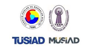 TOBB, TESK, TÜSİAD ve MÜSİAD'dan ortak açıklama: Öncelik fiyat istikrarı